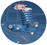 Lemken rubin 10 механизъм за повдигане
